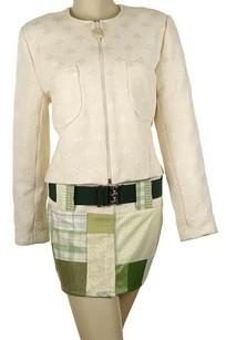 Jacket / Cream / Silk embroidered